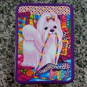 Lisa Frank tin and stationary